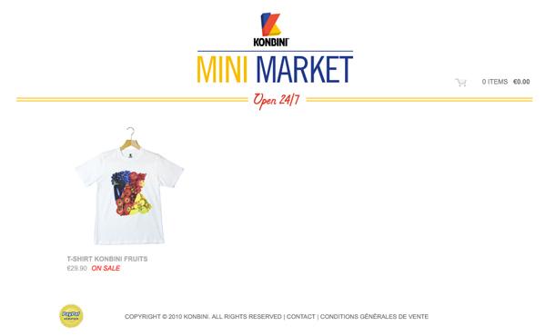 site store.konbini.com
