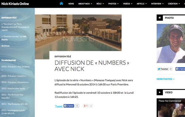 Nick Kiriazis Online