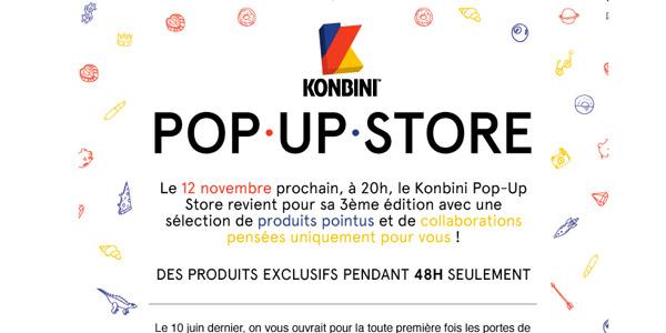 Emailing Konbini Pop Up Store