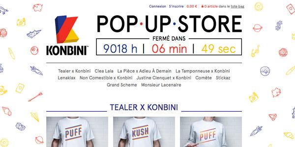 Konbini - Pop Up Store